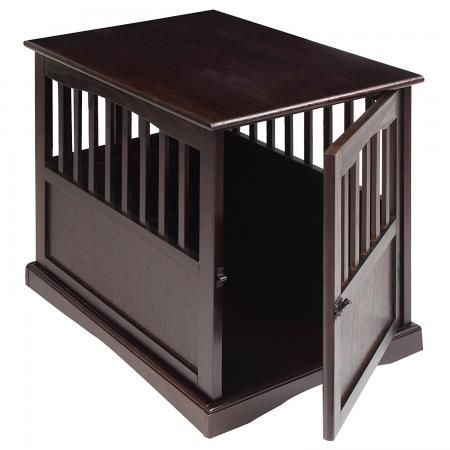 Casual Home 600-44 Pet Crate End Table, 24 pollici